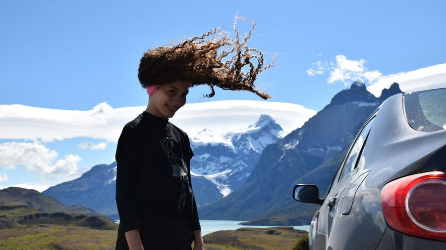 The Tourist Travel Traveling Travelling Girl Power Travel Destinations EyeEm Gallery EyeEm Best Shots Photo Photography Photos EyeEm Eyeem Travel EyeEm Traveling Torres Del Paine TorresDelPaine Chile Chile♥ EyeEm Nature Lovers Hair Hairstyle Hair Style Hairs Hairstyles Torres Del Paine - Chile Photography In Motion