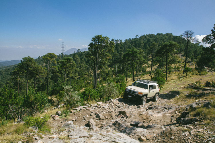 4x4 Jeep Life Car Day Mountain Nature No People Outdoor Outdoors Scenics Sky Toyota Toyota Landcruiser Transportation Tree