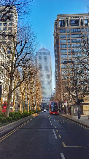 Canada Square Architecture Skyscraper Road Land Vehicle Sky London Travel Destinations