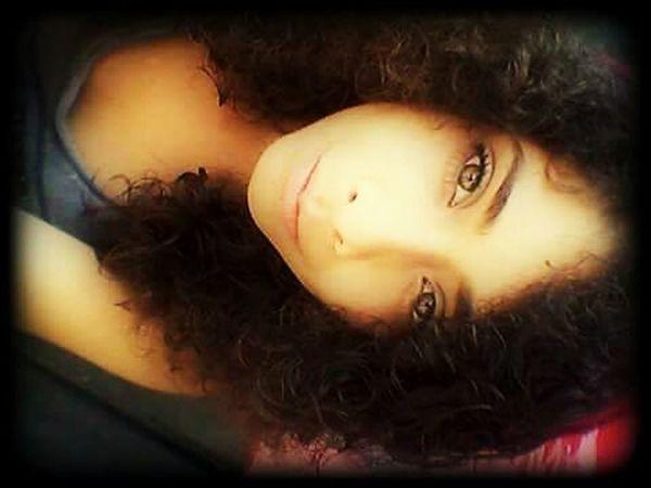 Hi! That's Me Curly Hair Eyes Brown Eyes First Eyeem Photo Love♡ Faces Of EyeEm