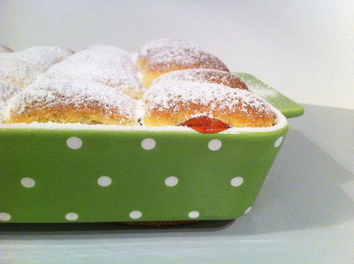 Close-Up Of Homemade Cake