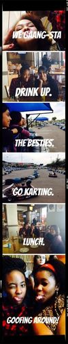 School's Out Enjoying School Holidays Eating Out Go Karting