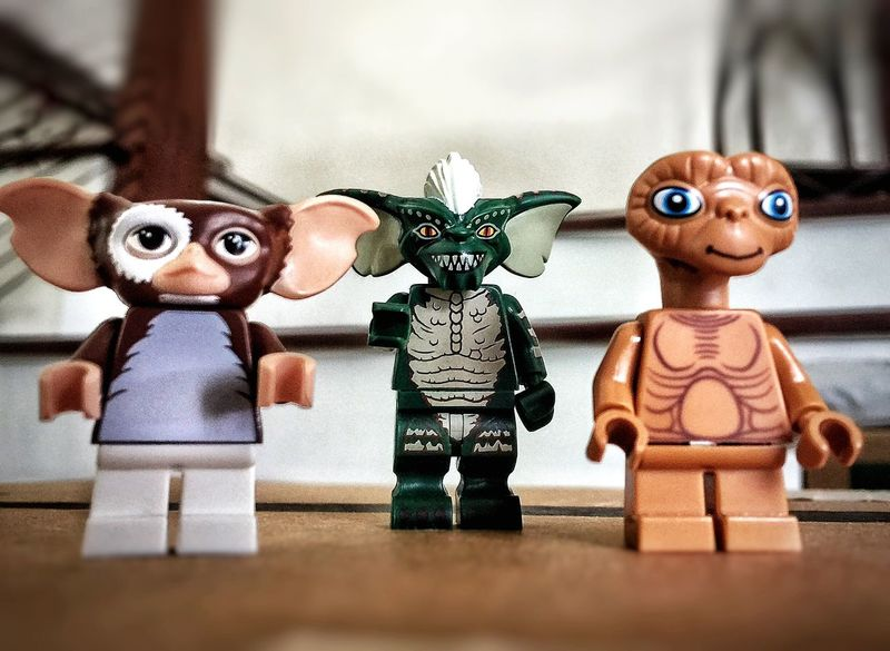 Lego Minifigures LEGO Legophotography Legominifigures Lego Photography Lego Adventures Blast From The Past Old Friends 80's Kids Will Know Never Feed Them After Midnight ET Phone Home Mogwai Toy Photography