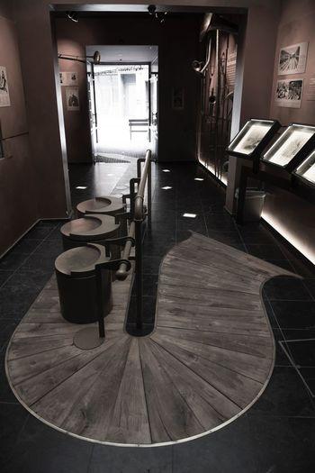 Adolphe Sax Empty Hardwood Floor Indoors  Interior Long No People Sax Saxophone