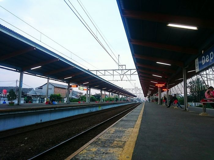 - Perspective - Shirts INDONESIA Train Train Station Railway Photography Perspective Photoshoot Photos Photooftheday