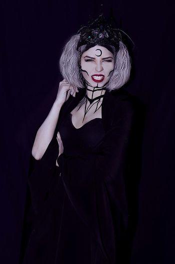Art Artfoto Girl Gothic Makeup Women