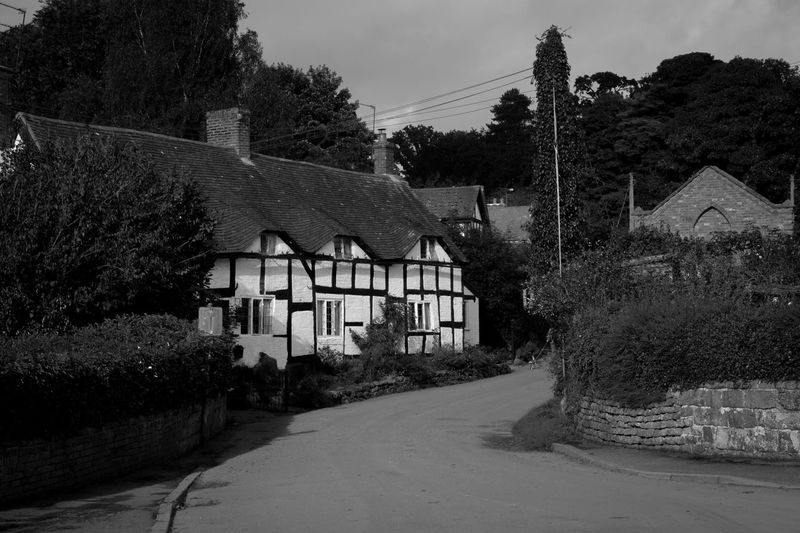 English Village Shropshire Tong Village Village Life