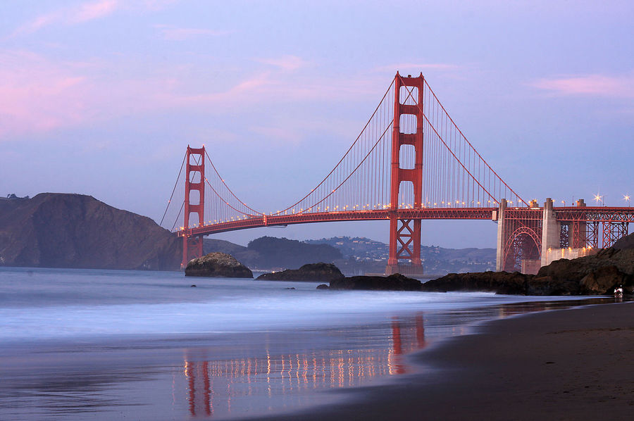 California California Coast San Francisco Sunset Landscapes With WhiteWall Golden Gate Bridge Been There. Fresh On Market 2018 California Dreamin