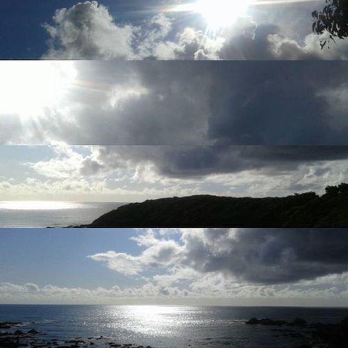 Elquisco Algarrobo Elcanelo Climararo Landscape Paisaje Nofilter De hoy en la tarde; lluvia y sol.