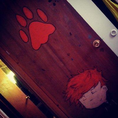 forgot Day3 Somethingorange my ed sheeran's draw on my door Fmsphotoaday Edstagram