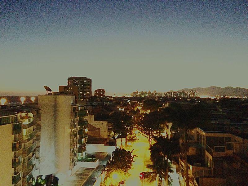 Boa noite! No People Clear Sky Residential Building Sky Nature Brazil Brasil Rio De Janeiro Barra Da Tijuca, Rio De Janeiro Sunlight Boanoite
