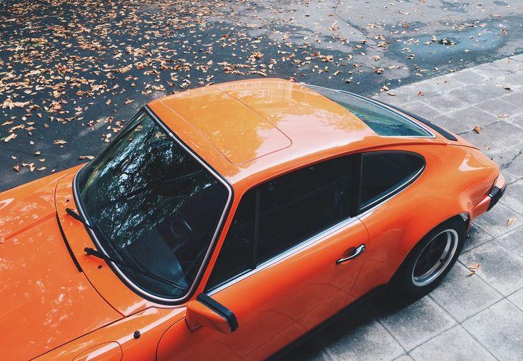 Porsche 911 Orange Bestsellers Car Classic