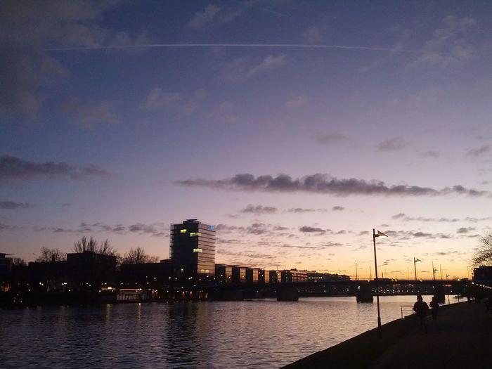 Sunset Main River