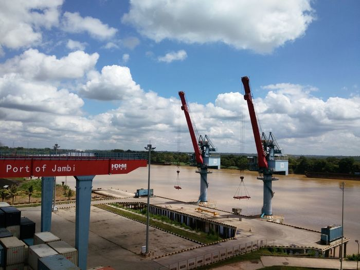 Container Crane Container Container Crane Harbour Container Terminal Development Industry Jib Crane No People Outdoors Port Port;