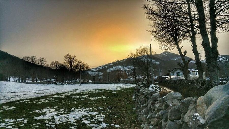 Landcape North Of Spain Snow ❄ Mountains Basque Country Capture The Moment Final Day