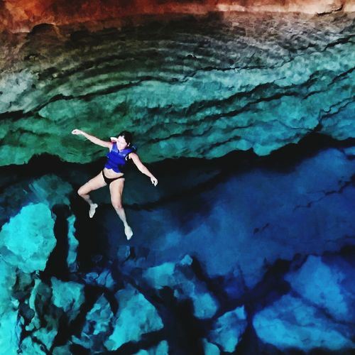 Lagoa Azul - Chapada Diamantina