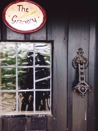 Old Granary Doorknob Door Glass Window Old Sign Taking Photos Hello World Enjoying Life No People Pure No Filters