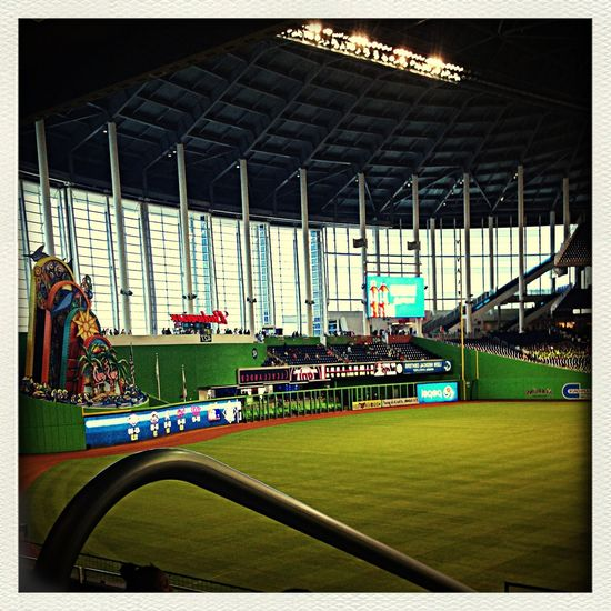 """This pic was taken at the marlins game, with my camp """"woodlands super stars sports camp"""" First Eyeem Photo"""