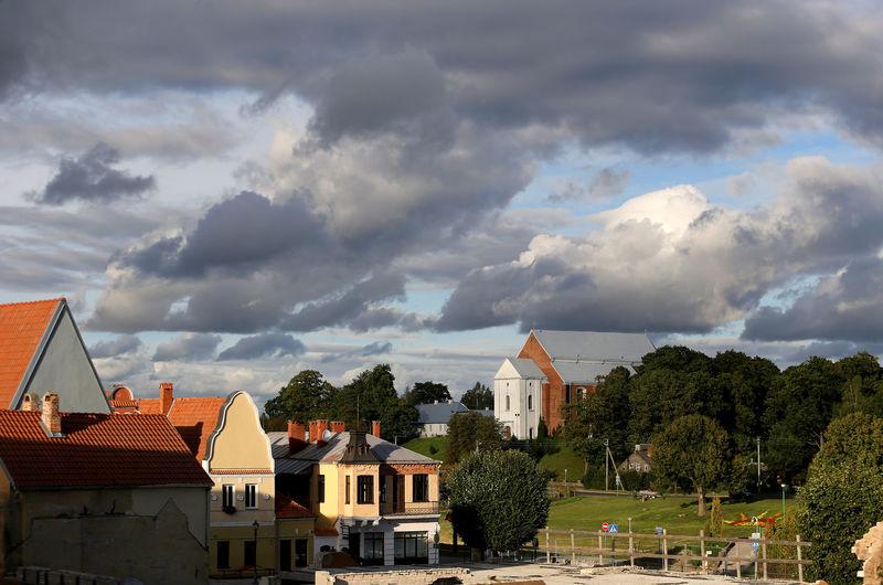 Architecture City Kedainiai Old Town Kėdainiai Municipality No People Outdoors Place Town