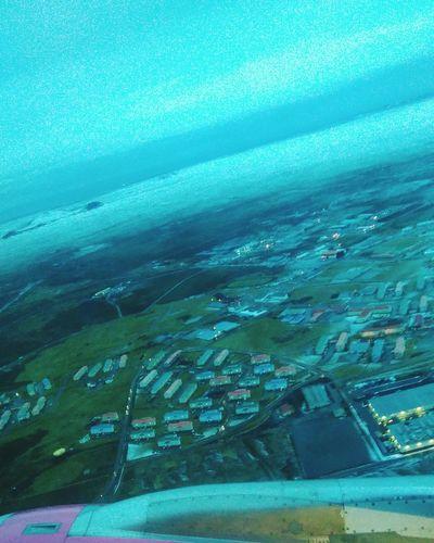 Keflavik --> Gdansk Airplane Travel Iceland ásbrú