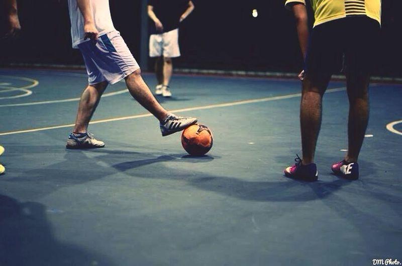 Late night. Futsal University Malaysia