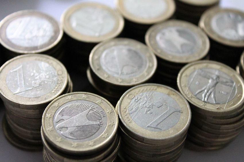 1 Euro coins Coins Currency Euro Coin Euro Coins Euromünzen Geld Money Münzen Münzenberg Währung