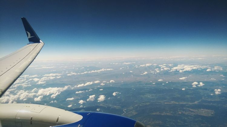 Anadolujet Thy Turkishairlines AirPlane ✈ Airplane Airplane Window Airplane Shot Airplaneview Airplane ın The Sky Airplane Window View Airplane Wing Airplane Clouds Sky And Clouds Sky Sky_collection Skylovers Clouds And Sky Hello World Airplane Cloud ✈✈✈🛩🛫