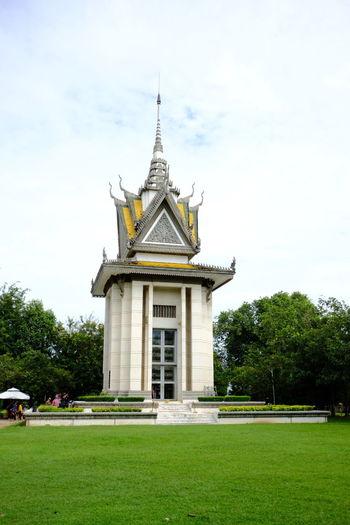 Facade of a temple