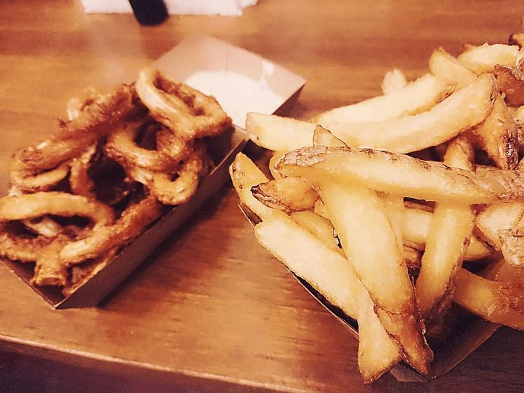 Calamares and Chips Ready-to-eat Foodpictures Food Photography Foodspotting