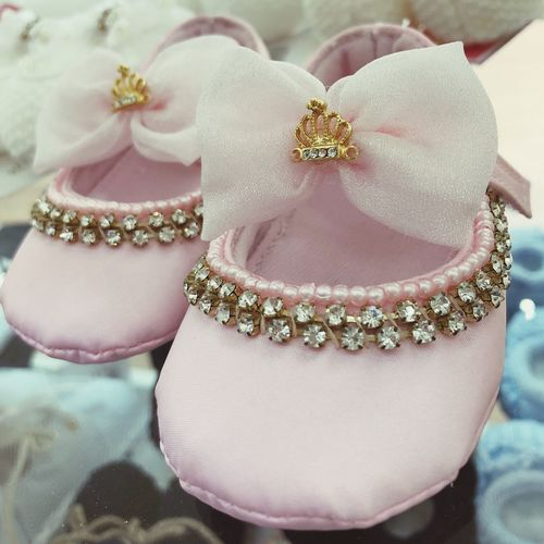 Baby shoes Pink Close-up Jewelry Wealth Luxury Indoors  High Angle View Fashion Pink Color No People