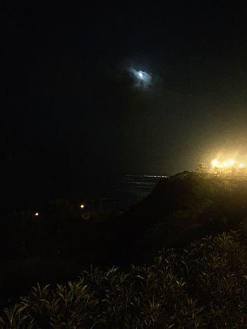 Moon between shadows Sky Nature Little Moments Big Dreams