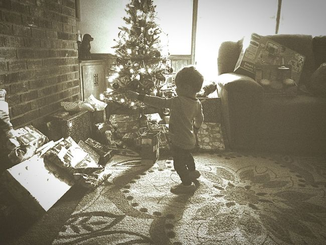 My lil boys first Christmas he can remember! Showcase: January Enjoying Life My Son Children Proud Father