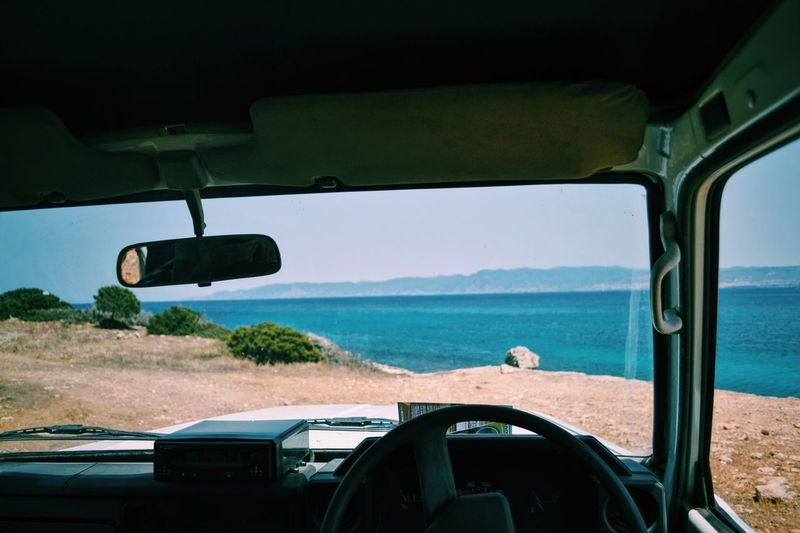 Road trip Sea Jeep Desert Erasmuslife Roadtrip Finding New Frontiers
