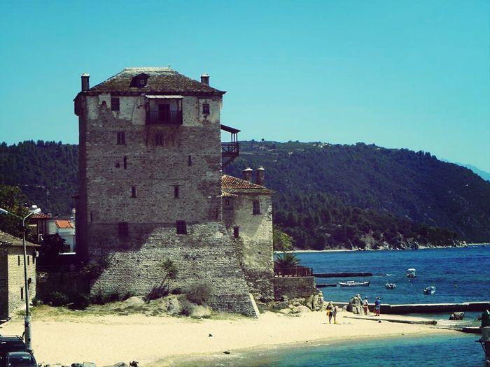 Ouranoupolis Athos I❤greece Traveling