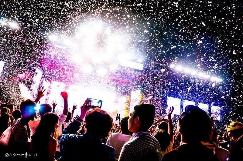 2014 UMF Korea!! Yeah!! Umf Korea Ultra Music Festival UMF Music