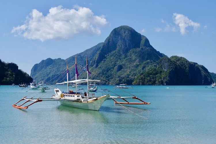 The bacuit archipel, palawan, philippines