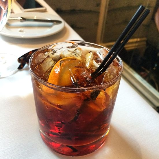 Cocktail Bergdorf Goodman NYC Fancy Lunch Whiskey Refreshment Alcohol Alcoholic