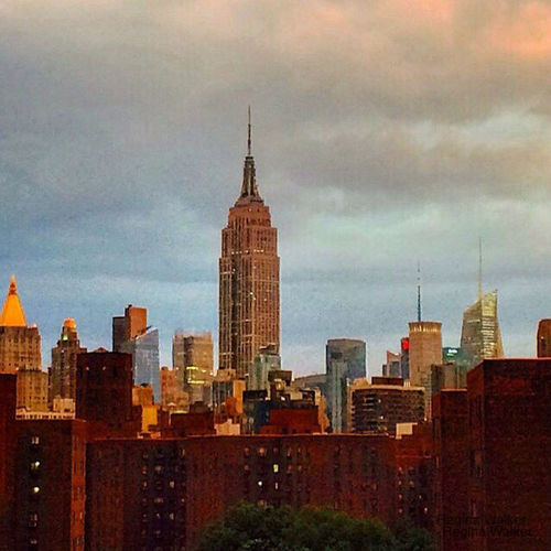 Empire State Building Architecture Building Exterior Cityscape Community Development International Landmark No People Outdoors Sky Tall Tall - High Tower