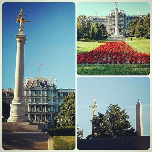 Army First Infantry Division Memorial Dwight D Eisenhower Executive Office Building DC WashingtonDC Executiveoffices Army firstdivision memorial thebigred1. @kardbored