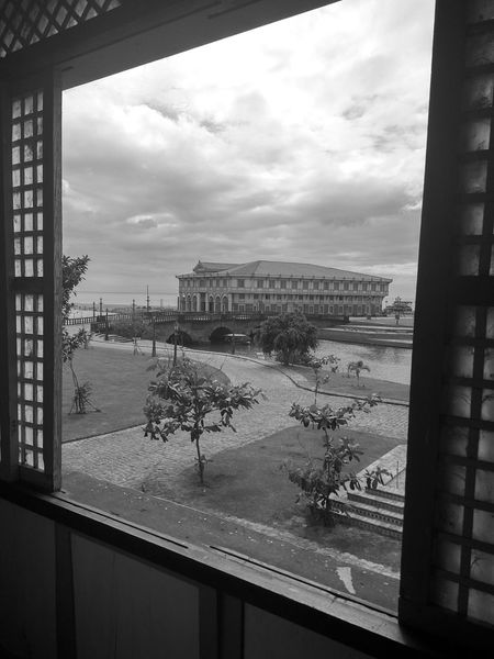 Window Cityscape Looking Through Window Sky Architecture Built Structure Day Cloud - Sky No People Lascasasfilipinasdeacuzar Travelphotography Old-fashioned Oldhouses Architecture Heritage Site