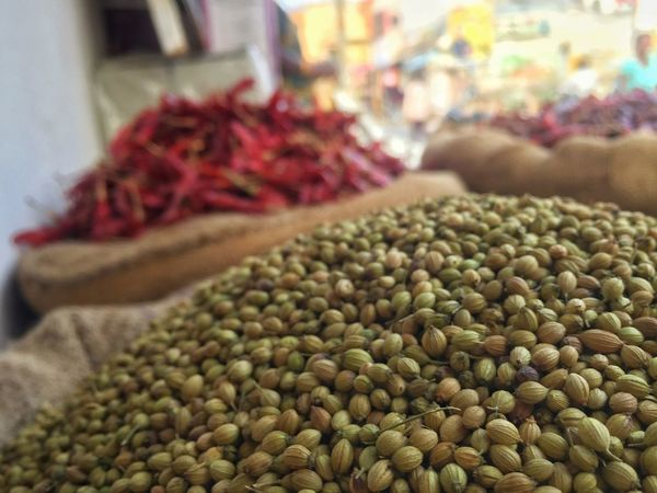 Food Food And Drink Freshness Market Market Stall Abundance For Sale Healthy Eating Close-up Retail  Large Group Of Objects Sack Heap Indoors  No People Green Olive Farmer Market Day Spices Chili
