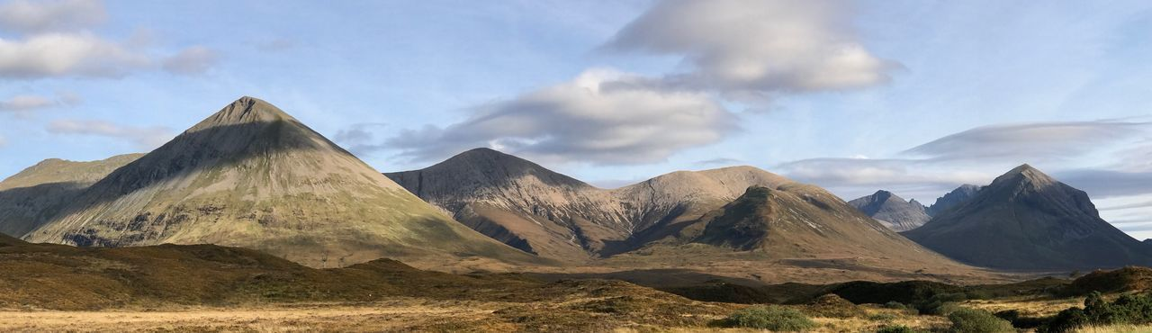 Torridon Mountains Highlands Scottish Highlands Scotland Cloud - Sky Sky Mountain Scenics - Nature Beauty In Nature Tranquil Scene Tranquility Land Mountain Range Nature Landscape No People Non-urban Scene Day Panoramic Sunlight Travel Travel Destinations