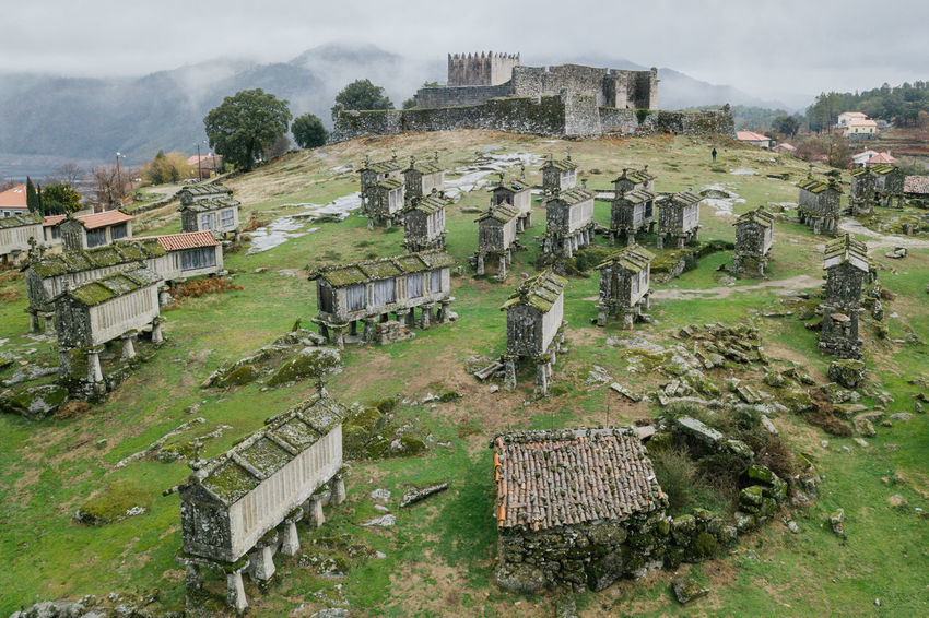 Arcos de Valdevez / Lindoso / Peneda Geres / Ponte da Barca / A Senhora Do Monte Arcos De Valdevez DJI Mavic Pro DJI X Eyeem Drone  Lindoso Peneda-Gerês National Park Aerial Aerial View Ancient Ancient Civilization Architecture Building Exterior Built Structure Castel Damaged Day Dji Dronephotography High Angle View History Landscape Nature No People Old Ruin Outdoors Ponte Da Barca Sky The Past Tree