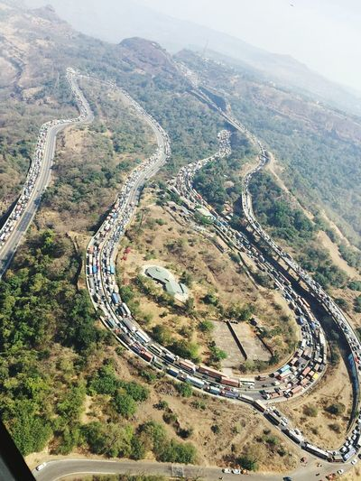 Mumbai Pune Expressway Traffic jam First Eyeem Photo