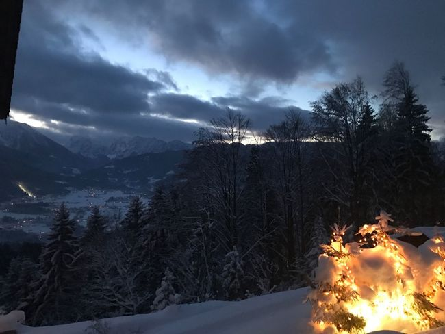 Outdoors Beauty In Nature Nature Snow Cold Temperature Winter Mountain No People Dream Sunset White Color Light