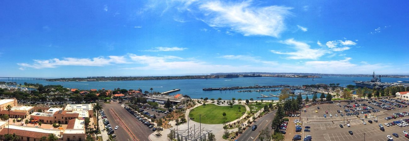 Not a bad view for today's photoshoot. San Diego Sailing Photoshoot Paradise