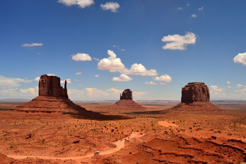 Beauty In Nature Scenics Travel Destinations Landscape Rock - Object Desert Rock Formation Miles Away Nikon D5200 Nature Photography Southwest USA USA Nikon D5200 Tranquility Geology Desert Nature Sky Arizona Monument Valley Monument Valley Tribal Park Red The Great Outdoors - 2017 EyeEm Awards