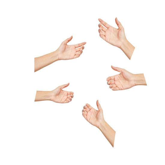 Hand Isolated Set Holding White Background Path Clipping Showing Woman Empty Hold Finger Sign Palm Show Female Symbol Something Arm Gesture Care Skin Thumb Giving Take Bottle Hands Clean Greeting Give Picking Putting Work Medicine Open Conceptual Teamwork Friendship Help Meeting