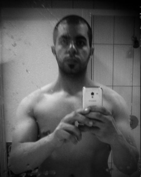 That's Me Train Hard In The Gym