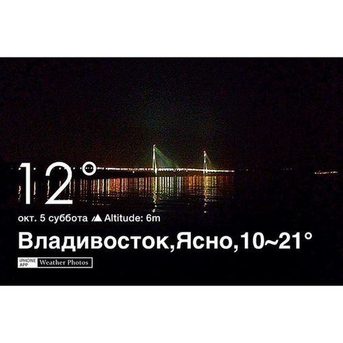 Владивосток,окт. 5 11:57 Ясно, 12° VL Погода студиарафондво двфу fefu
